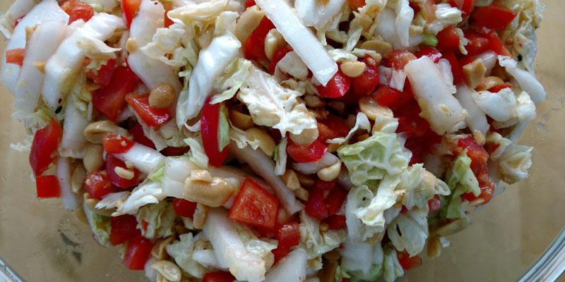Sel Et Sucre Yum Yum Salat à La Tina